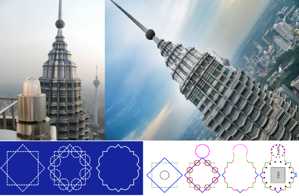 Twin Towers design- Ziad