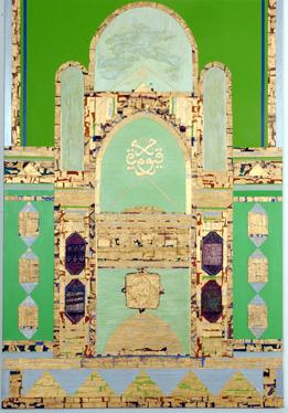لوحة فنية للفنانة الماليزية الشريفة فاطمة بنت السيد الزبير- 2006  وتقول الشريفة فاطمة إنها استلهمت هذه اللوحة عندما قامت بزيارة وادي حضرموت التي شعرت بأنها أرض مباركة ربما بسبب البركة والطاقة الروحية التي تحيط بالمكان